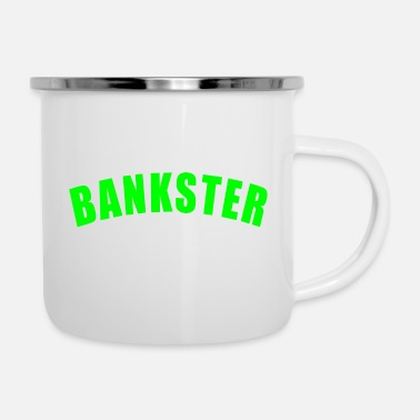 Francfort BANKSTER GIFT BANK BANKER FINANCE MANAGER MBA - Mug émaillé