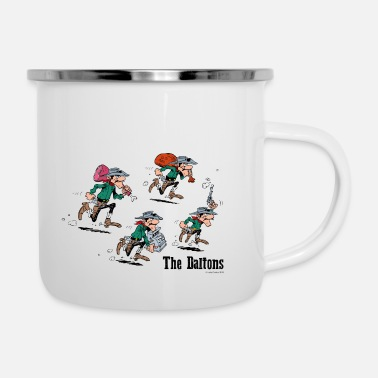 Officialbrands Lucky Luke Dalton Brüder The Daltons - Emaille-Tasse