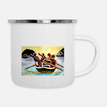 England bootsfahrt - Emaille-Tasse