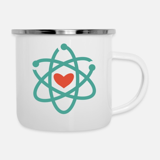 Love Mugs & Drinkware - We love science! - Enamel Mug white