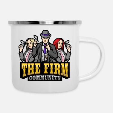 The Firm Community eSports Logo - Enamel Mug