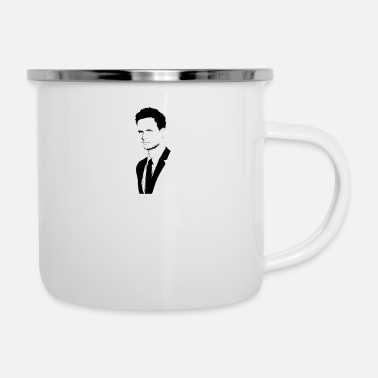 Ross Mike Ross - Emaille-Tasse