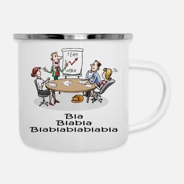 Meeting meeting - Enamel Mug