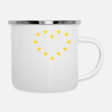 Europa I Love Europe / I Heart Europe (Europa) - Tazza smaltata