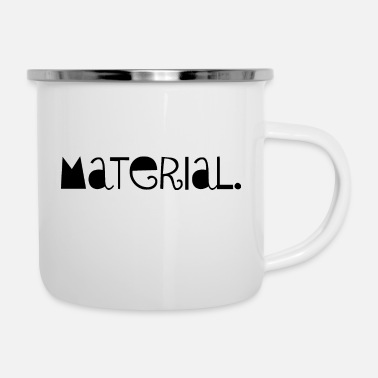 Material Material - Emaille-Tasse