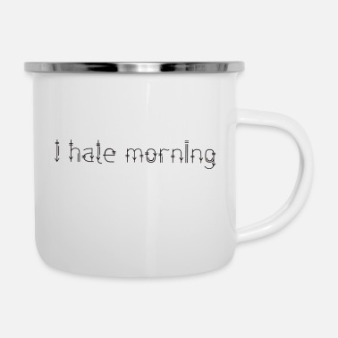 Tired Tired - Enamel Mug