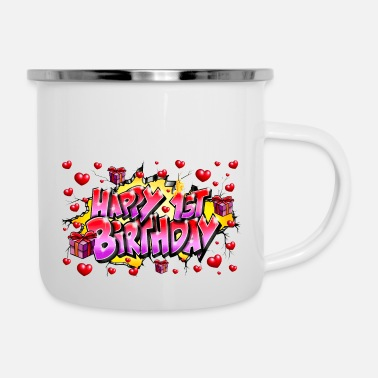 Happy Birthday GRAFFITI HAPPY 1ST BIRTHDAY PRINTABLE - Emalimuki