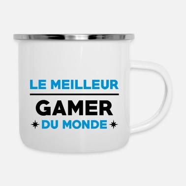 Anonymous Le meilleur Gamer du monde / Gaming - Mug émaillé