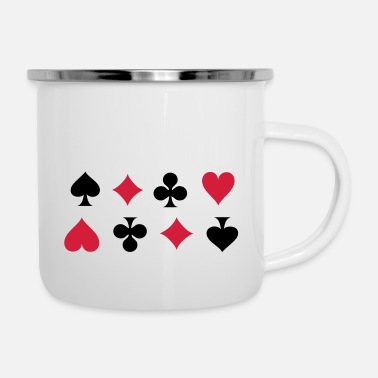 Cards Card Suits - Mug émaillé