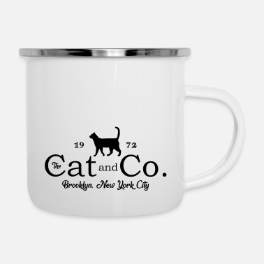 Nyc Le chat Co. Brooklyn NYC NYC 1972 - Tasse émaillée