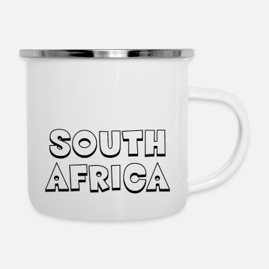 South South Africa - South Africa - Cape Town - Johannesburg - Enamel Mug