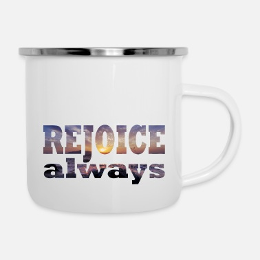 Reminder Rejoice sea - Enamel Mug