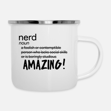 Nerd Nerd / Nerds: Definition of Nerd - Enamel Mug