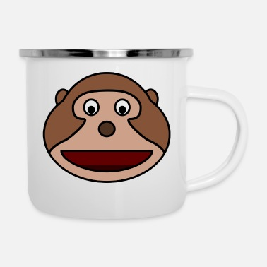 Monkey collection - Enamel Mug