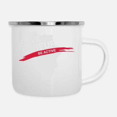 Conflict Save Darfur. Be Active! - Enamel Mug