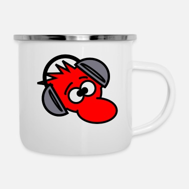 Deejay Deejay - Emaille-Tasse