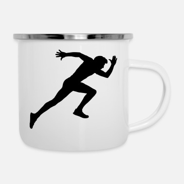Sprint Der Sprinter - Emaille-Tasse