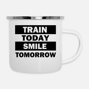 Training Training - Emaille-Tasse