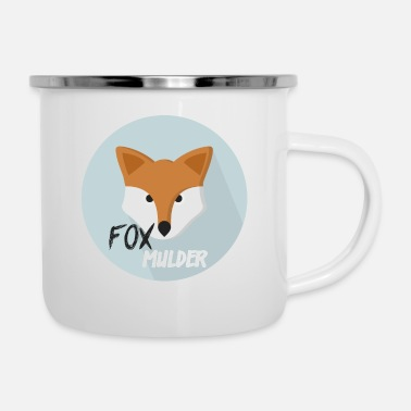 Officialbrands Maglietta Fox Mulder - Tazza smaltata
