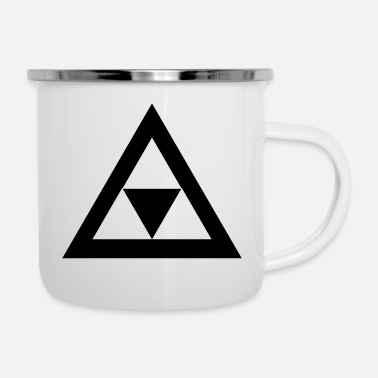 Triangle Triangle in the triangle - Enamel Mug