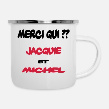 1 sticker Merci Jacquie et Michel 3