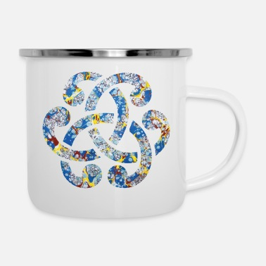 Performance celtic knot 15 e 205 - Enamel Mug