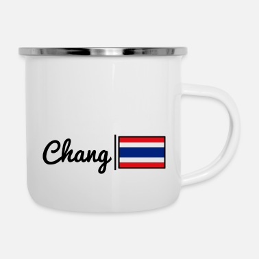 Change Chang - Tailandia - Tazza smaltata