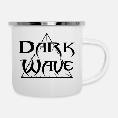 Wave Dark Wave - Tazza smaltata