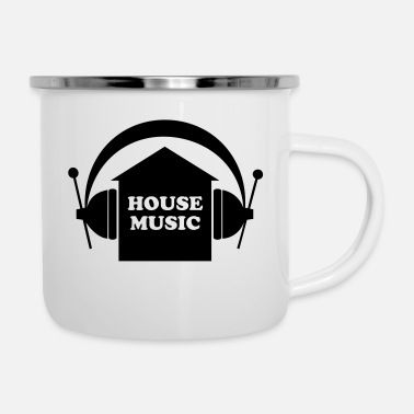House House Music - Tazza smaltata