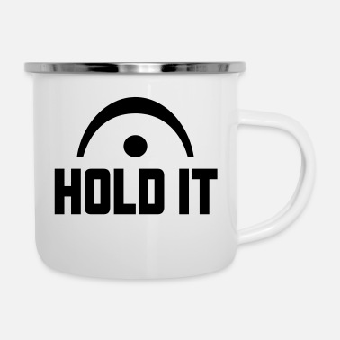 Holdem HOLD IT FERMATE - Emaille-Tasse