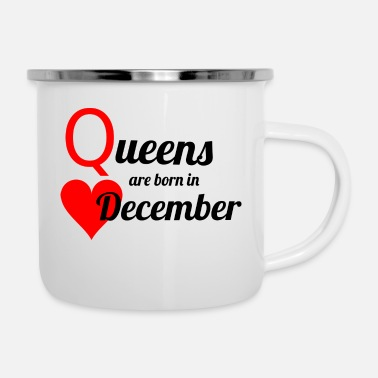 December Queen December - Enamel Mug