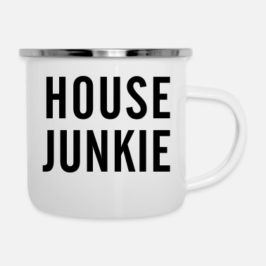 House House Junkie - Emaille-Tasse