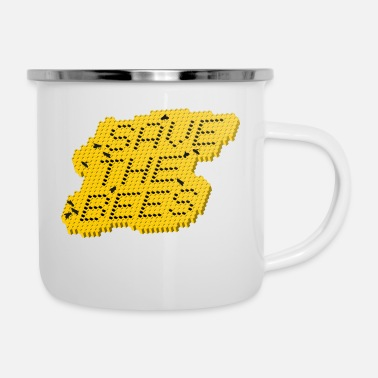 Save Save the bees / Save the bees - Enamel Mug
