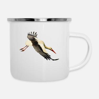 Lapsi Storch - Emaille-Tasse