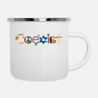 Ensemble Coexister ensemble - Mug émaillé