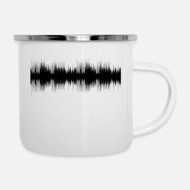 Audio audio - Emaille-Tasse