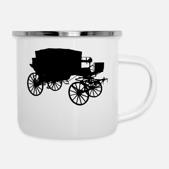 Coach Mugs & Drinkware - coach - Enamel Mug white