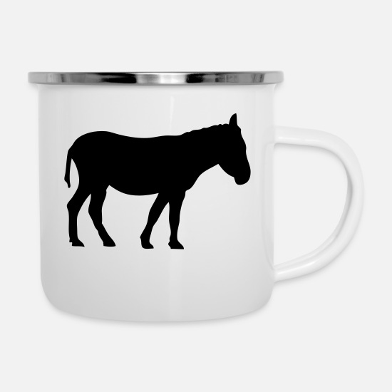 Ane Mugs & Drinkware - animals close ane3 - Enamel Mug white