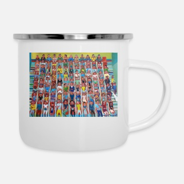 Cinema At the cinema - Enamel Mug