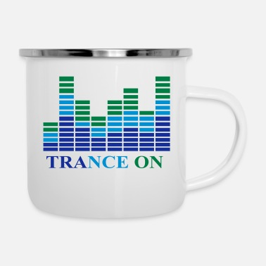 Trance Trance op - Emaille mok