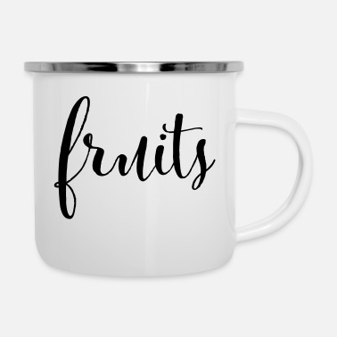 Fruit FRUITS - fruits fruit - Enamel Mug