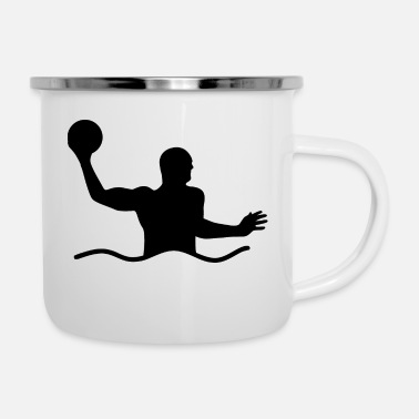 Water Sports Water Polo Water Polo Water Sports - Enamel Mug