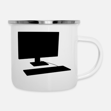 Pc PC - Emaille-Tasse