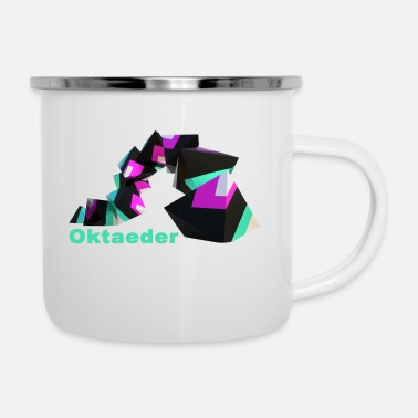 Rectangle octahedron - Enamel Mug