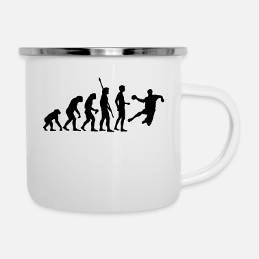 Handball evolution_handball_b_1c - Emaille-Tasse