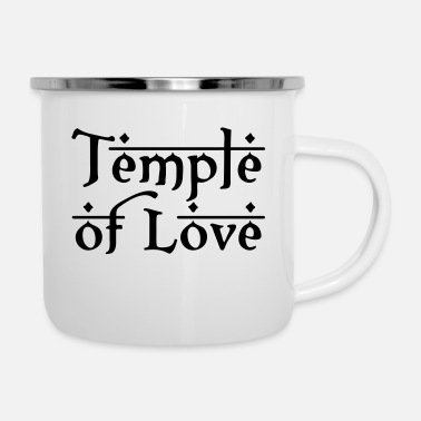 Templer TEMPLE OF LOVE - Emaille-Tasse