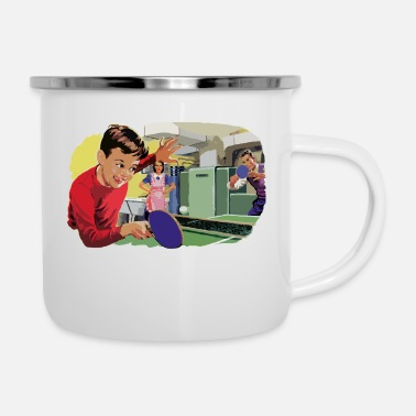 Collections RETRO COLLECTION - Emaille-Tasse