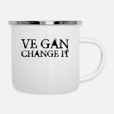 Change Change it - Enamel Mug