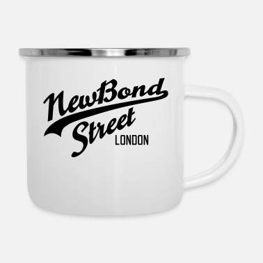 Bond New Bond Street | London - Enamel Mug