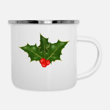 Holly Holly - Emaille-Tasse
